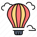 air, balloon, hot icon