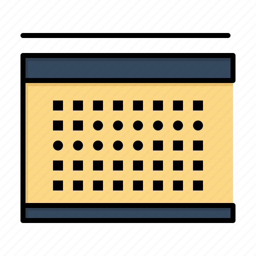 calendar, date, holidays, vecation icon