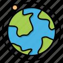 globe, hotel, internet, world icon