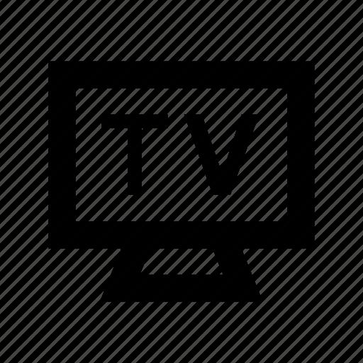 lcd, monitor, plasma tv, television, tv icon