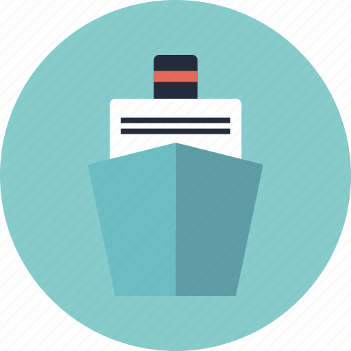 boat, cruise, ferry, ferryboat, liner, nautical, sea, ship, shipping, transport, transportation, travel, vehicle, vessel icon