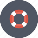 help, life, lifebuoy, lifesaver, preserver, protect, protection, service, support, tourism, travel icon