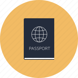 citizen, citizenship, document, id, identification, identity, immigration, international, legal, passport, tourism, travel icon