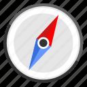 compass, location, map, navigation icon