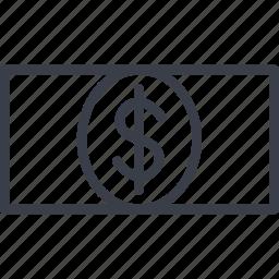 cash, dollar, finance, money, payment, tourism icon