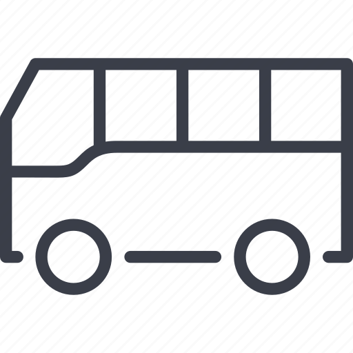 bus, tourism, transport, transportation, travel, vehicle icon
