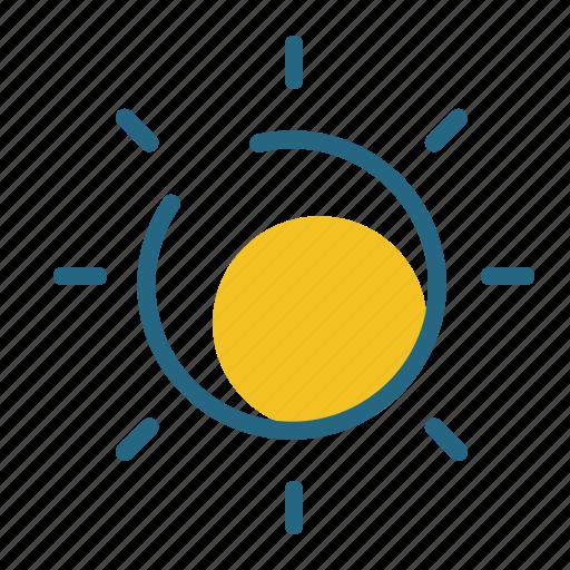 light, nature, sun, weather icon