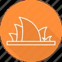 architecture, australia, house, opera, opera house icon