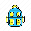adventure, backpack, bag, hiking, outdoor, travel icon