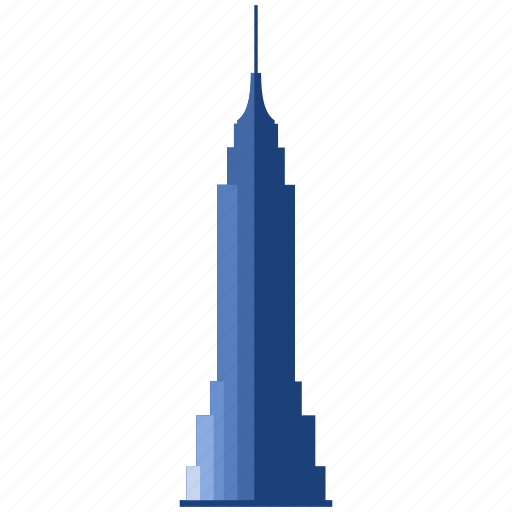 apartment, building, empire state building, hotel, office, skyscraper, tower icon