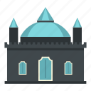 building, castle, dome, medieval, old, palace, tower icon