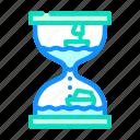 hourglass, toy, children, game, robot, radio
