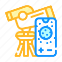 telescope, phone, connectivity, children, robot, radio