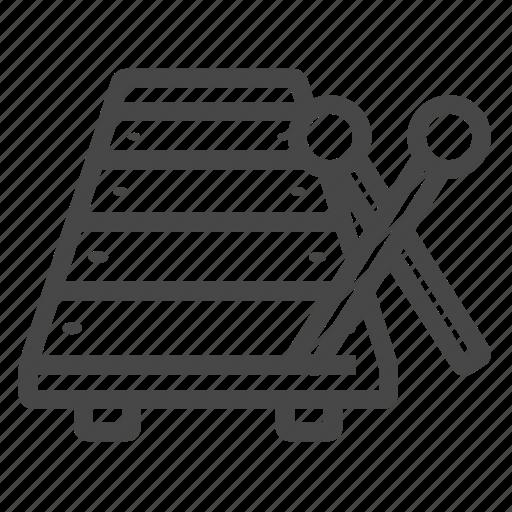cimbalom, cymbal, dulcimer, glockenspiel, musical instrument icon