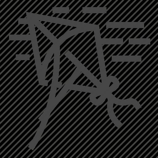 Toy, kite, wind icon - Download on Iconfinder