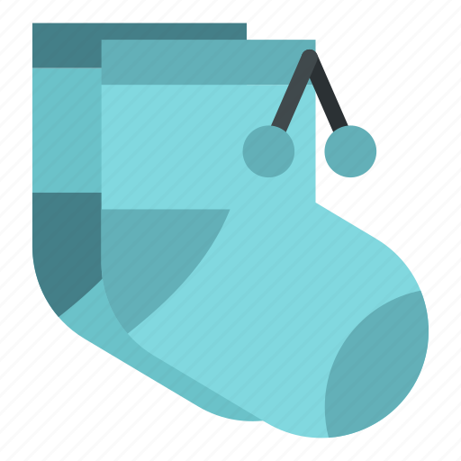Baby, child, clean, cloth, clothing, heel, sock icon - Download on Iconfinder