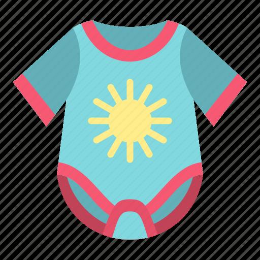 adorable, apparel, baby, birth, body, bodysuit, child icon