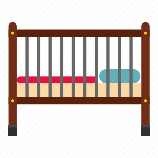 baby, bed, child, childhood, furniture, home, nursery icon