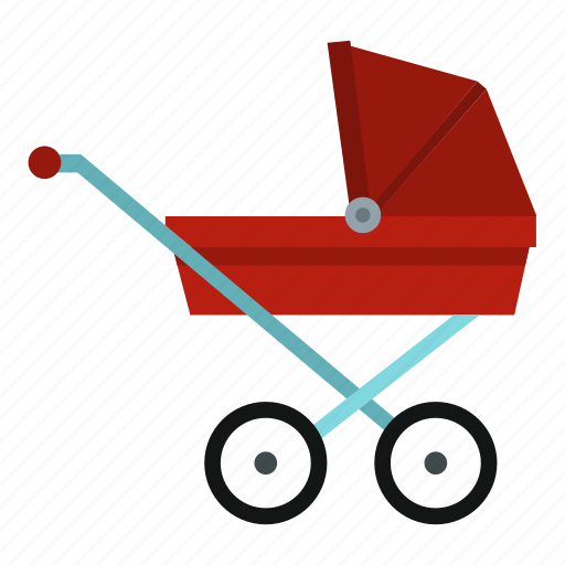 baby, carriage, child, pram, small, stroller, wheel icon