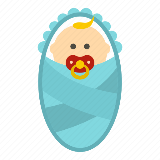 baby, child, face, little, newborn, small, smiling icon