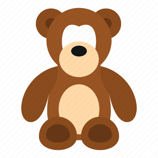 Animal, baby, bear, bow, child, cuddly, stuffed icon - Download on Iconfinder