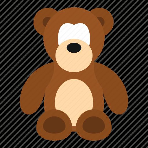 animal, baby, bear, bow, child, cuddly, stuffed icon