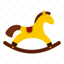 baby, child, element, horse, kid, pony, toy icon