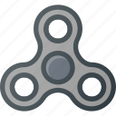 fidget, spinner, toy, trend icon