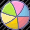baby ball, ball, ocean ball icon
