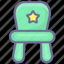 armchair, chair, stool icon