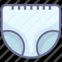 diaper, nappy, newborn icon