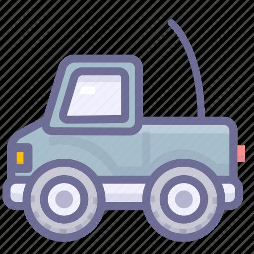 telecar, toy car, toy truck icon