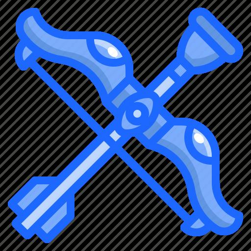 arc, archery, arrow, baby, kid, toy icon