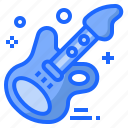 guitar, music, party, rock, song icon