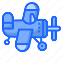 airplane, baby, kid, plane, toy, transportation icon