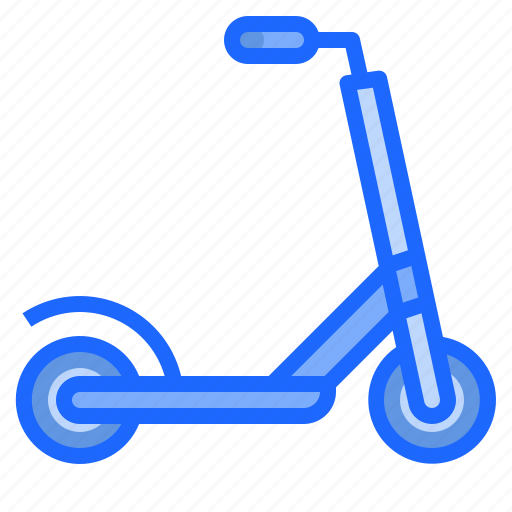 bike, motorbike, motorcycle, scooter, transport icon