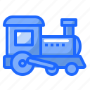 baby, kid, railroad, toy, train icon