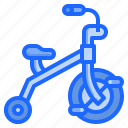 and, baby, children, kid, toy, transportation, tricycle icon