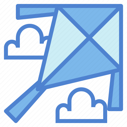 Cloud, fly, kite, sky icon - Download on Iconfinder