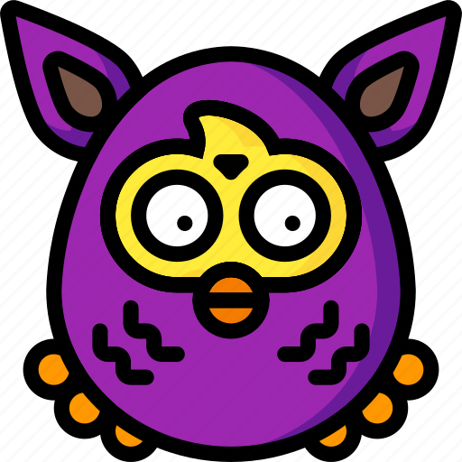 baby, firby, furby, interactive, soft, toys icon