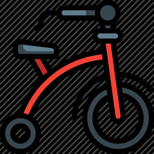 bike, childs, ride, toys, trike icon