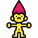 baby, childs, infant, toys, troll icon
