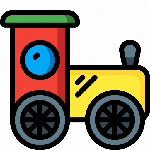 baby, childs, infant, toys, train icon
