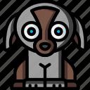 puppy, soft, teddy, toys, ultra icon