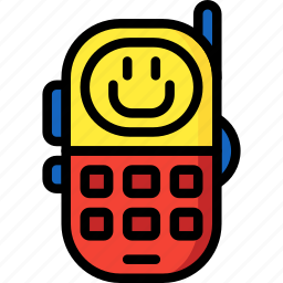 baby, phone, telephone, toddler, toys icon