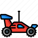 car, controlled, racer, radio, rc, toys icon