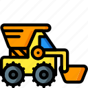 digger, toys, ultra icon