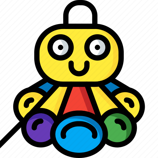 musical, octopus, sea, soft, toys icon
