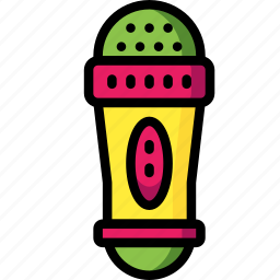 mic, microphone, toys icon