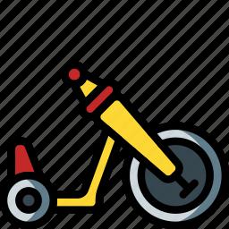 bike, ride, toys, trike icon